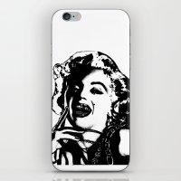 Marilyn Monroe. Rebel: $$$ iPhone & iPod Skin