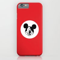 iPhone & iPod Case featuring Genosse Mouse by 0x17