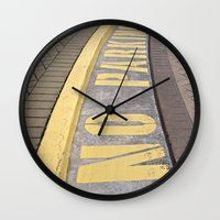 Where Not To Park Wall Clock