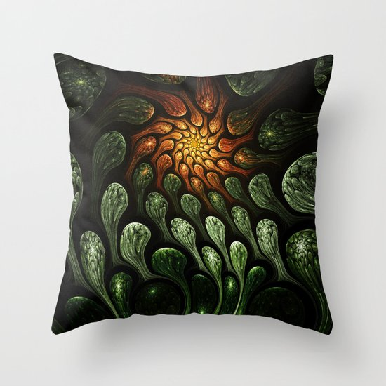 Elements: Earth Throw Pillow