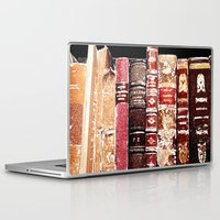 books Laptop & iPad Skins featuring Books by Regan's World