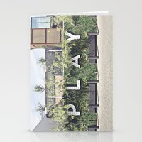 P L A Y  Stationery Cards