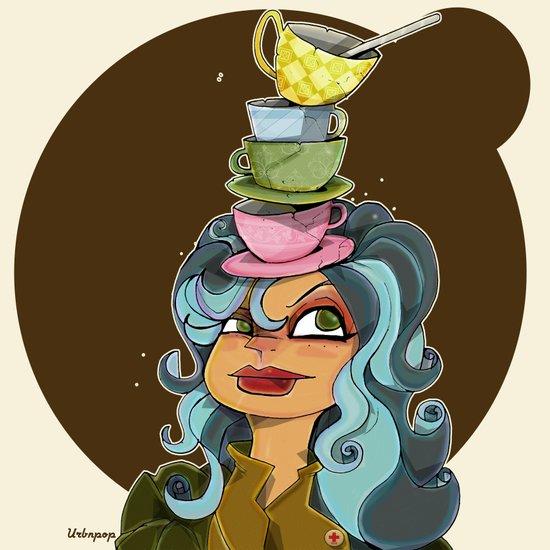 Tea Tyme Y'all Art Print