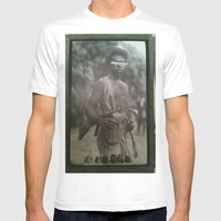 Guerilla Clone B-Side Mens Fitted Tee White SMALL
