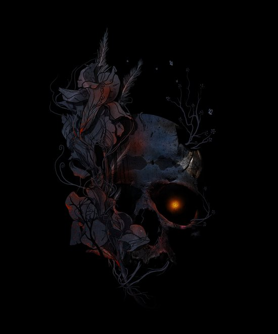 DeathBlooms Canvas Print
