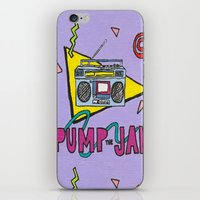 Pump The Jam iPhone & iPod Skin