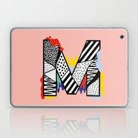 M for ... Laptop & iPad Skin