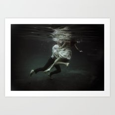abyss of the disheartened : VII Art Print