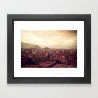 Kathmandu Sea Framed Art Print