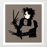 Scissorhands Art Print
