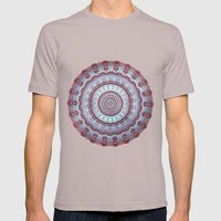 Pastel Shades Symmetries Mens Fitted Tee Cinder SMALL