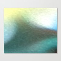 Deep Water Abstract Canvas Print