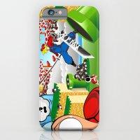 iPhone & iPod Case featuring WHAT IF ..aka mushroom kingdom. by murdead