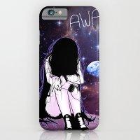 Gone Away Girl iPhone 6 Slim Case
