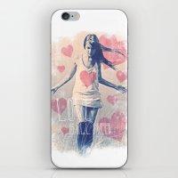 ALL I NEED IS LOVE iPhone & iPod Skin
