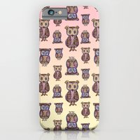 iPhone & iPod Case featuring Owl pattern by Vanya