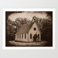 Where Once We Worshipped Art Print