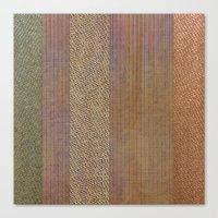 AB wicker Canvas Print