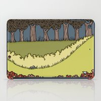 Flowers to Grass to Trees iPad Case