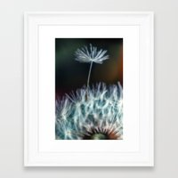 Drifting Away Framed Art Print