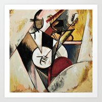 Study After Gleizes' Com… Art Print