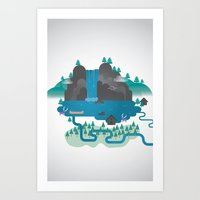 Emerald Lake Art Print