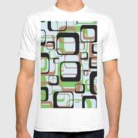 Patternation Mens Fitted Tee White SMALL