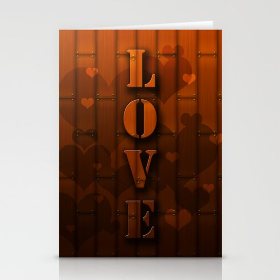 LOVE!  Stationery Card