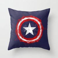 Meduzzle: Capitan's Amer… Throw Pillow