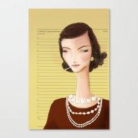 Icons / Coco Canvas Print
