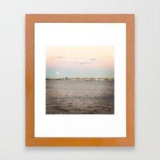 NY Harbor Framed Art Print