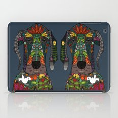 Great Dane love midnight iPad Case