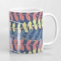 Seagrass Pattern - Blue … Mug