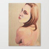 Masked Canvas Print