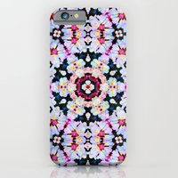 iPhone & iPod Case featuring Kaleidoscope Flowers  by Art, Love & Joy Designs