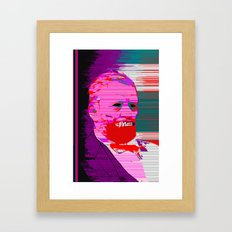 Glitching Grant Wendigo  Framed Art Print