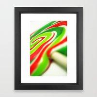 Retro Lolly. Framed Art Print