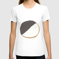 Cookie Womens Fitted Tee White SMALL