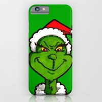 iPhone & iPod Case featuring How Grinchy! by JEDArts by J. Eric Dunlap