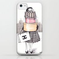iPhone 5c Cases featuring Shopping Junkie by anna hammer
