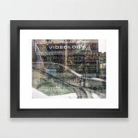 Untitled, Multiple Exposure Framed Art Print