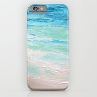 iPhone Cases featuring Orient Beach by Ann Marie Coolick