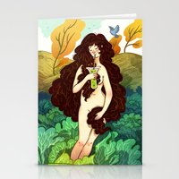 Beautiful Inside and Out Stationery Cards