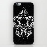 Alien Tribal Tattoo - Wh… iPhone & iPod Skin