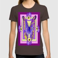 T-shirt featuring Lilac-Purple-Yellows Pan… by SharlesArt