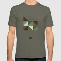 Geometric Oregon Mens Fitted Tee Lieutenant SMALL