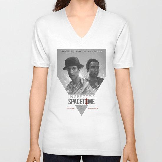 Inspector Spacetime  V-neck T-shirt