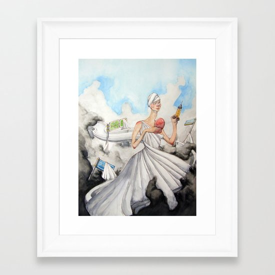 The Alluring Annoyance of...Renewal Framed Art Print