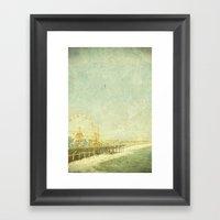 Santa Monica Ferris Whee… Framed Art Print