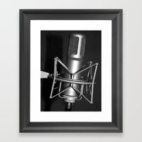 Sounds from the past Framed Art Print